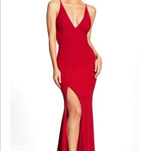 NWT Dress the Population Iris Gown